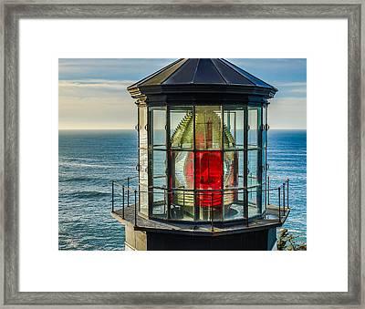 Light Head Framed Print