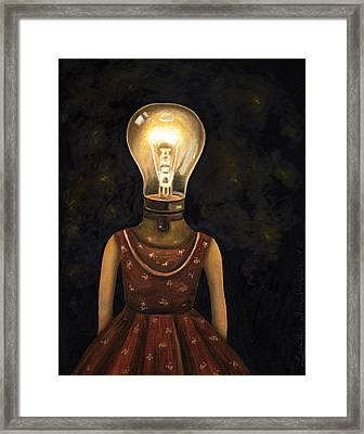 Light Headed Framed Print by Leah Saulnier The Painting Maniac