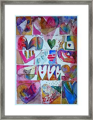 Light Hearted Framed Print