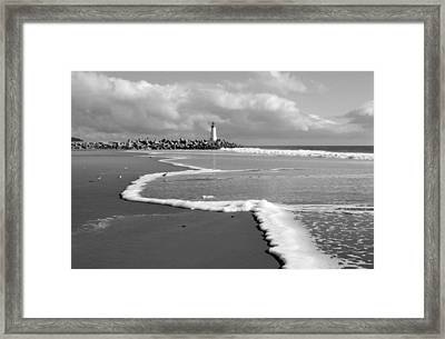 Santa Cruz - Light House Framed Print