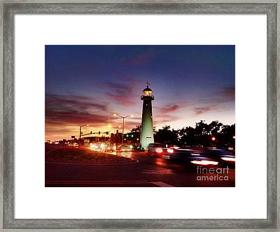 Light House Framed Print by Janice Spivey