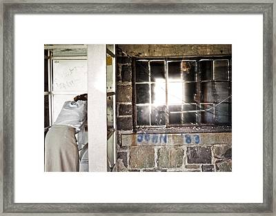 Light In Abandonment Framed Print by Kellice Swaggerty