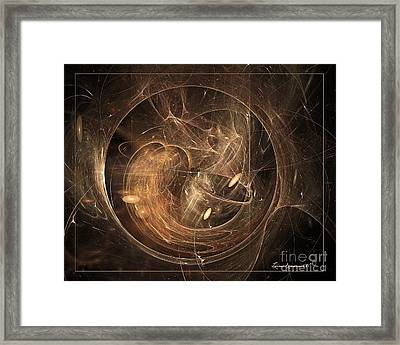 Light In Motion Framed Print by Leona Arsenault