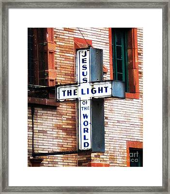 Light In The City Framed Print