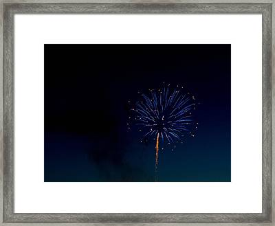 Light In The Night Framed Print by Megan Tangeman