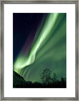Light In The Sky Framed Print