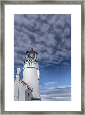 Light In The Sky Framed Print by Jon Glaser