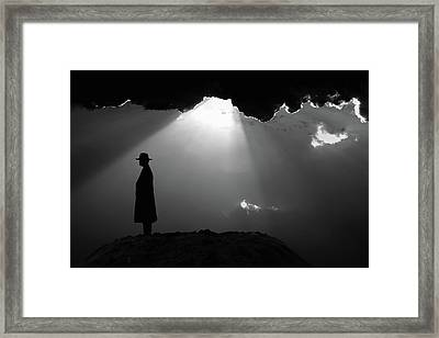 Light Life Framed Print
