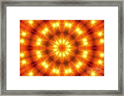Framed Print featuring the photograph Light Meditation by Joseph J Stevens