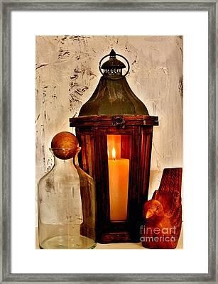 Light My Fire Framed Print