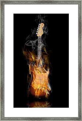 Light My Fire Framed Print by Peter Chilelli