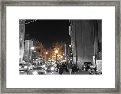 Light My Fire Framed Print by Toni Martsoukos