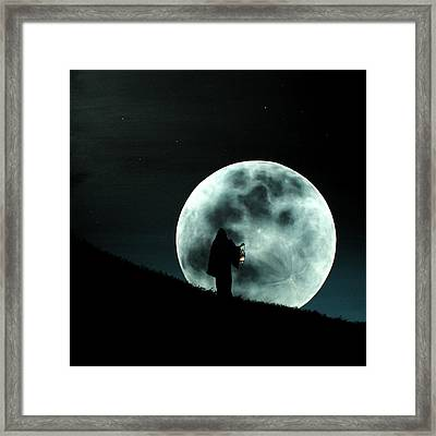 Light My Way 2 Framed Print