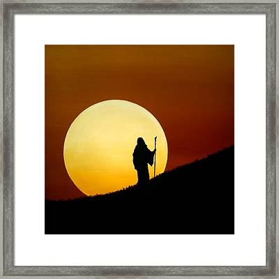 Light My Way 3 Framed Print