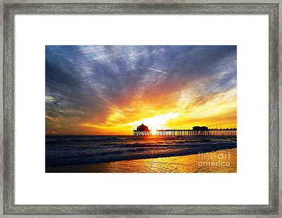 Light My Way Framed Print
