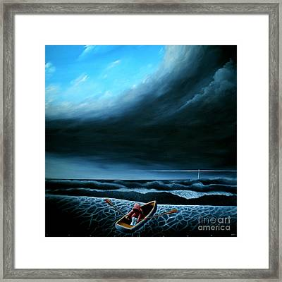 Light My Way Iv Framed Print