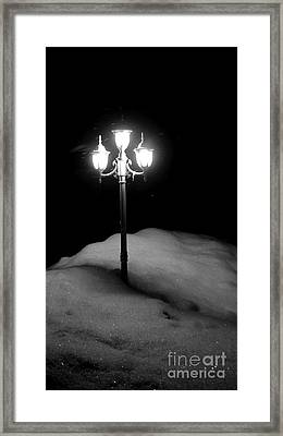 Framed Print featuring the photograph Light My Way  by Sarah Mullin