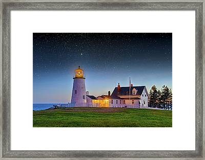 Light Of Ages Framed Print
