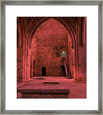 Light Of Ancient Souls Framed Print