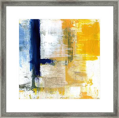 Light Of Day 1 Framed Print by Linda Woods