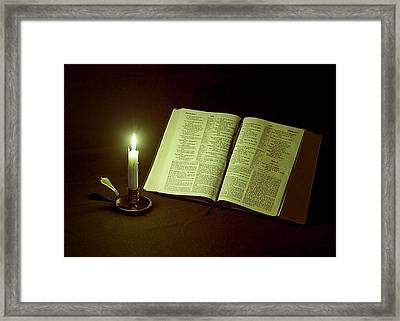 Light Of Hope Framed Print by Jeff Burton