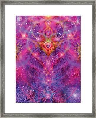 Light Of Passion Reborn Framed Print by Alixandra Mullins