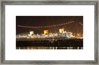 Light Of Queen Mary Framed Print by Heidi Smith