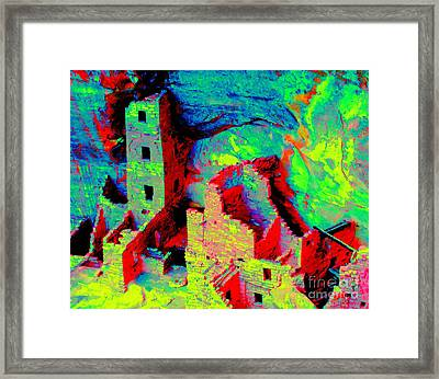 Light Of The Ancients Framed Print