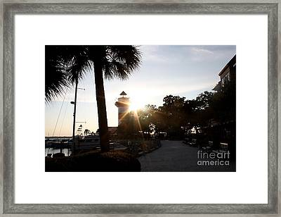 Light Of The House Framed Print by Michael Grubb