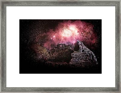 Light Of The Maya Framed Print