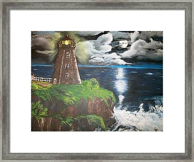 Light Of The Moon Framed Print