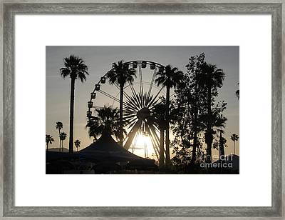 Light Of The Ride Framed Print by Chris Tarpening