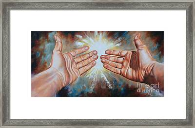 Light Of This World Framed Print by Ilse Kleyn
