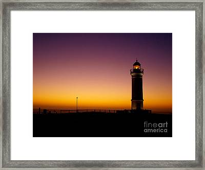 Light On Framed Print by Trena Mara