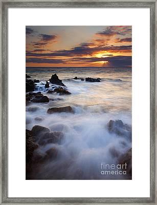 Light Over Lanai Framed Print