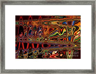 Light Painting 1 Framed Print