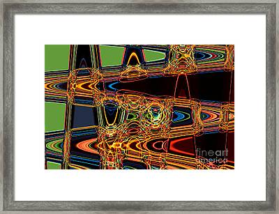 Light Painting 3 Framed Print