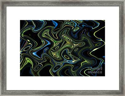 Light Painting 4 Framed Print