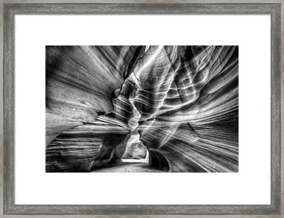 Light Path Framed Print
