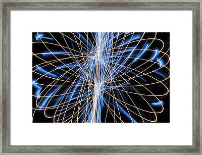 Light Patterns 006 Framed Print