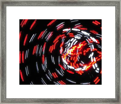 Light Patterns 008 Framed Print