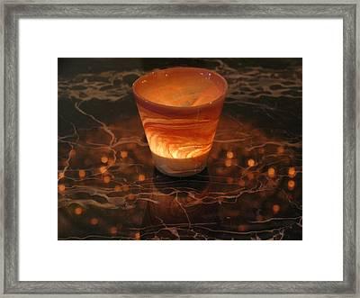 Light Reflection Framed Print