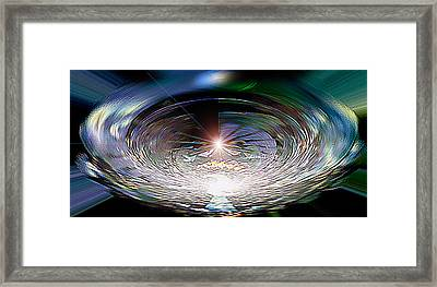 Light Roulette  V3 Framed Print by Rebecca Phillips