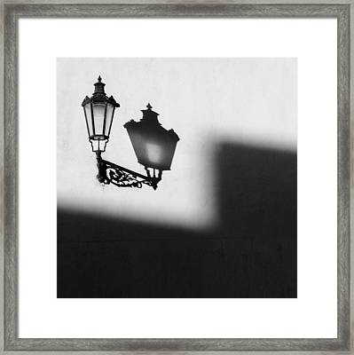 Light Shadow Framed Print by Dave Bowman