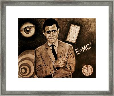 Light Shadow Science And Superstition Framed Print by Jeremy Moore