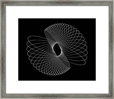 Light Shell Framed Print
