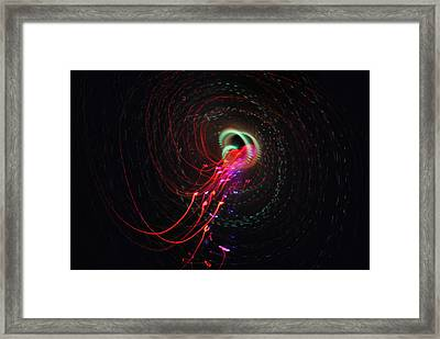 Light Show 1.4 Framed Print by Frederico Borges