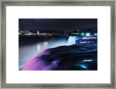 Light Show Framed Print by Mihai Andritoiu