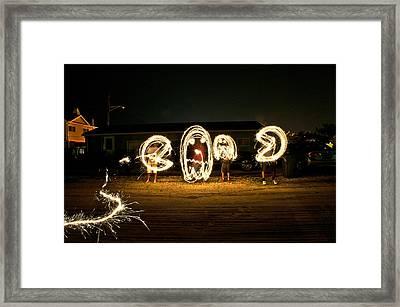 Light Show Framed Print by Ryan Crane