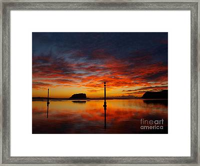Framed Print featuring the photograph Light Show by Trena Mara